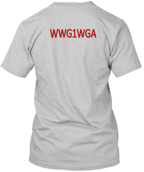 Wwg1wga Light Steel T-Shirt Back