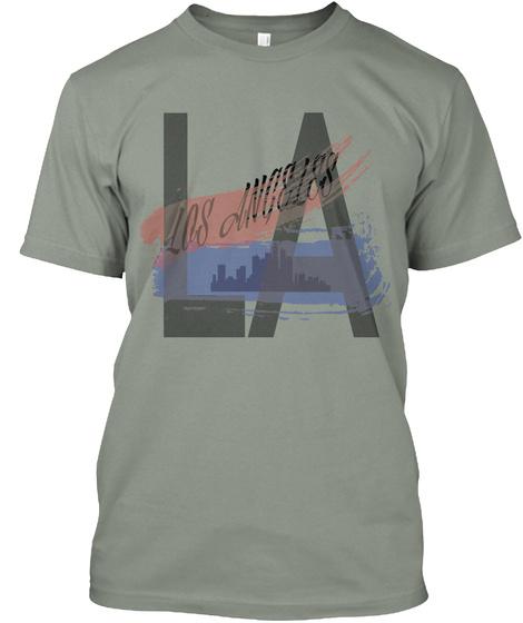 Los Angeles La Grey T-Shirt Front