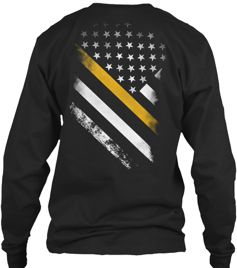 911   Dispatcher Black Long Sleeve T-Shirt Back