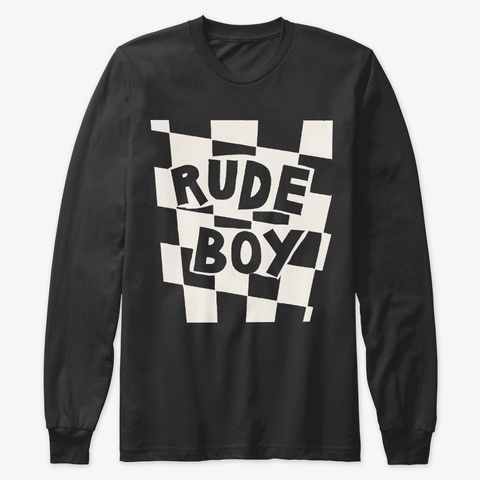 Blunt Clothing Rude Boy Black T-Shirt Front