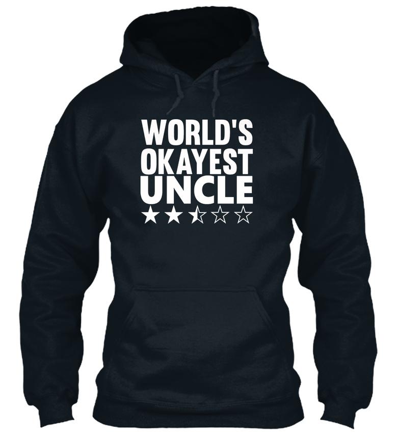 Worlds à Okayest Uncle Sweat capuche d'université 4nTr4qw7Y
