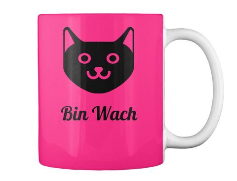 Bin Wach Hot Pink T-Shirt Back