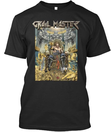 Grail Master Black Kaos Front