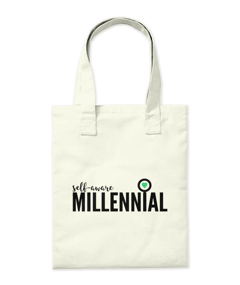 Sam Swag: You're Spectacular Natural Tote Bag Back