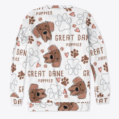Great Dane Cute Sweatshirt Standard T-Shirt Back