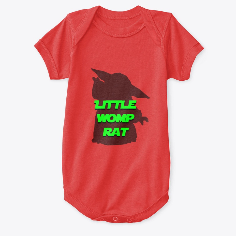 Little Womp Rat Products From Cyber Bot Designs Teespring While womp rats were opportunists and fond of carrion and refuse, they were also predators peli motto compared baby yoda to a womp rat in the mandalorian's debut installment while cobb vanth. teespring