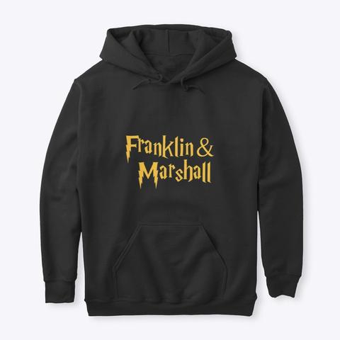 F&M Potter Black T-Shirt Front