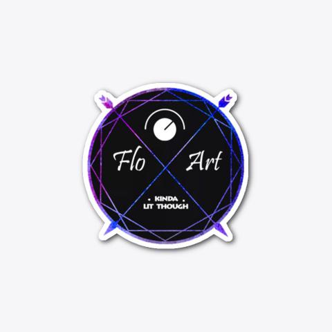 Flo Art Sticker Standard T-Shirt Front