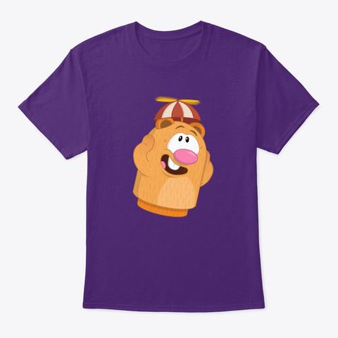 New Heights Purple T-Shirt Front