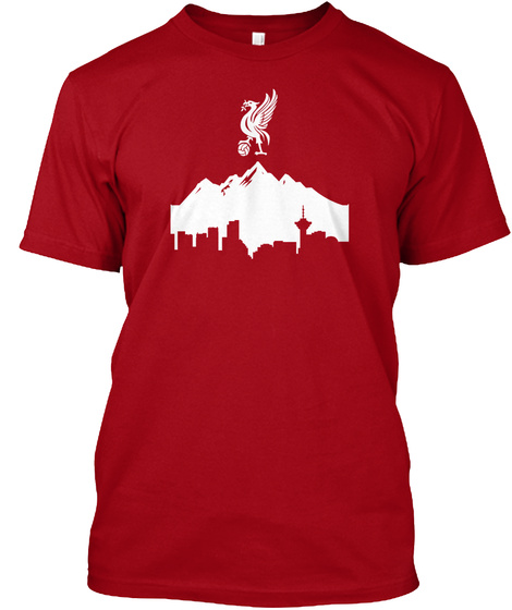 Lfc Vancover Deep Red T-Shirt Front