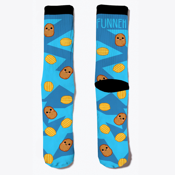 71e980f16c Magical Potato Socks Products from ItsFunneh | Ugly Christmas Stuff