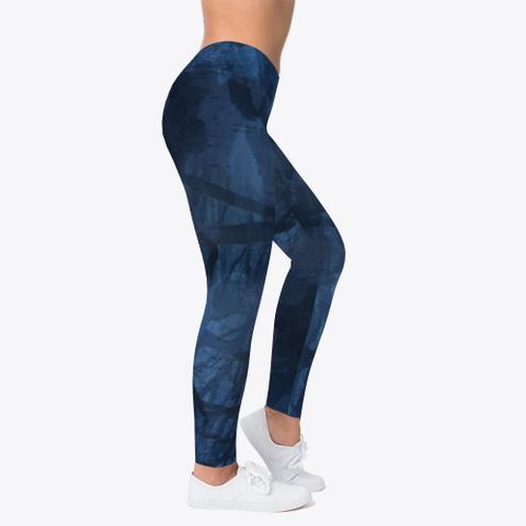 Night Camo Leggings Standard T-Shirt Right