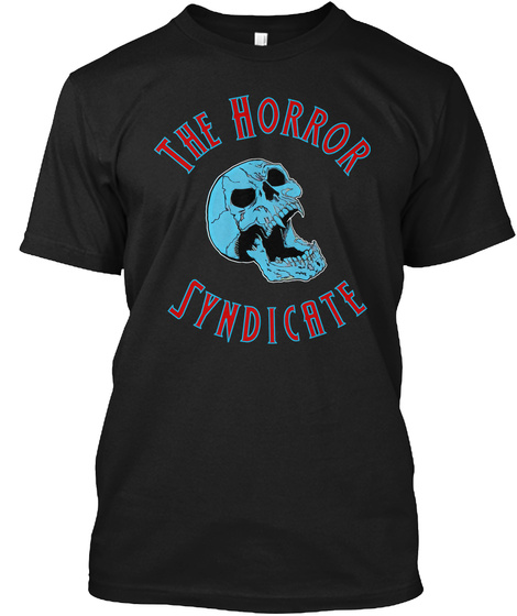 The Horror Syndicate Black T-Shirt Front