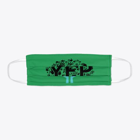 Y.E.P.   Face Mask Green T-Shirt Flat