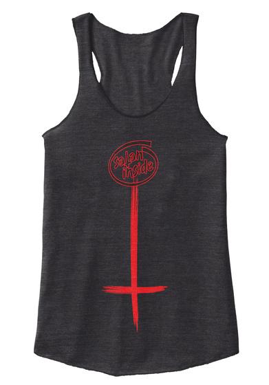Satan Inside Eco Black Camiseta Front