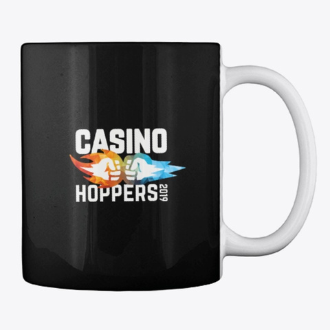 Casino Hopper Black T-Shirt Back