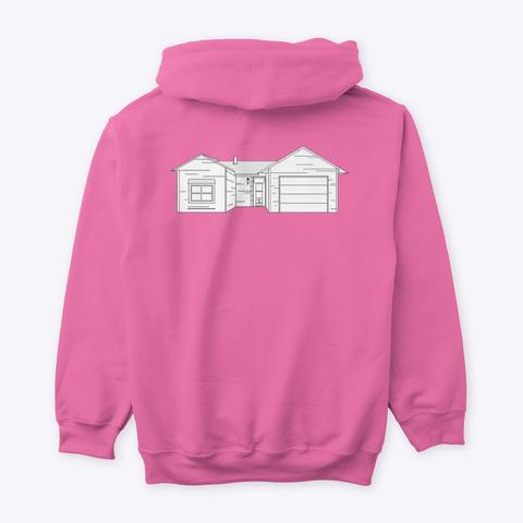 Classic Burbs Hoodie   All Colors Azalea T-Shirt Back