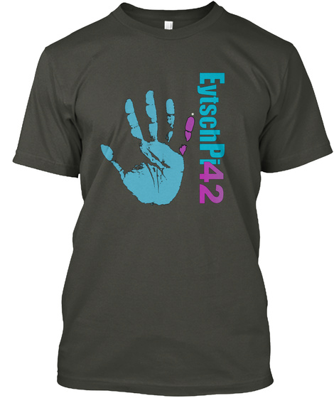 Eytsch Pi 42 Smoke Gray T-Shirt Front