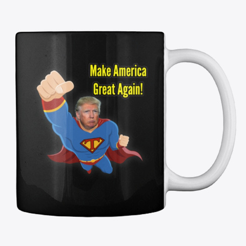 Donald Trump Make Spain Great Again! Black Taza Back