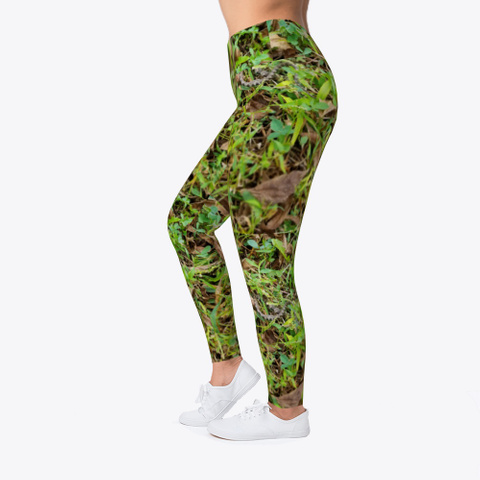 Real Looking Camouflage  Camo Leggings Standard T-Shirt Left