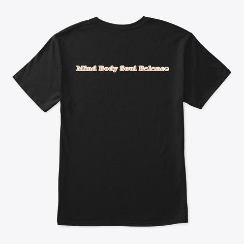 Eagle Spirit Premium Collection Black T-Shirt Back