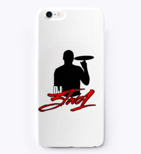 Dj3two1 Iphone Case Standard T-Shirt Front