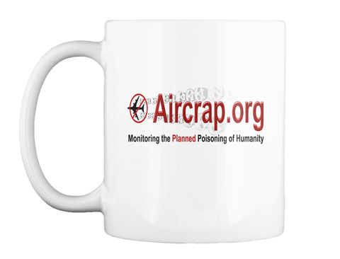 Official Air Crap Coffee Mugs White T-Shirt Front