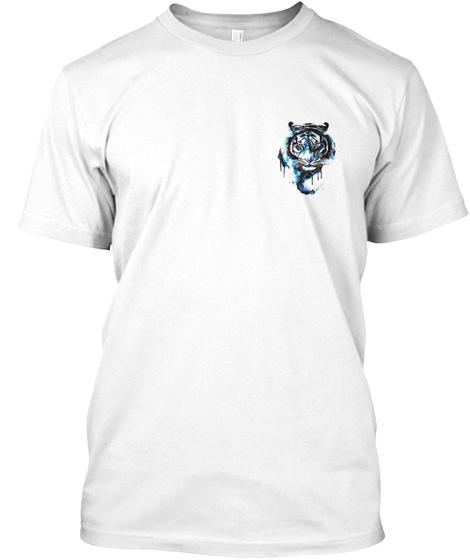 Tiger T~Shirt White T-Shirt Front
