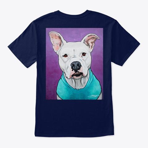 Lola   Pets By Josh Navy T-Shirt Back