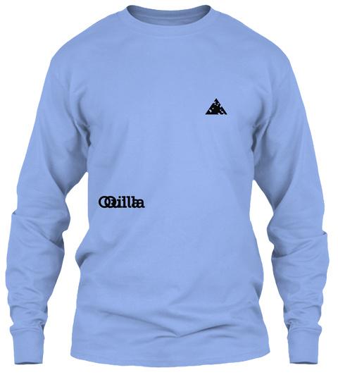 Quilla Qilla Light Blue T-Shirt Front