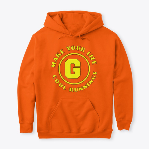 Its A G Ting Safety Orange T-Shirt Front