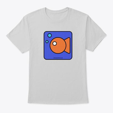 Littlehampton T Shirt By Colour Points Light Steel T-Shirt Front