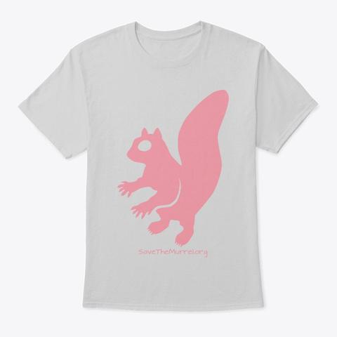 Pink Murrel Light Steel T-Shirt Front