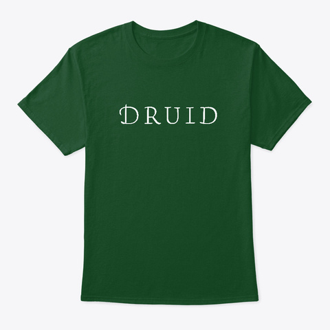 The Druid Deep Forest T-Shirt Front