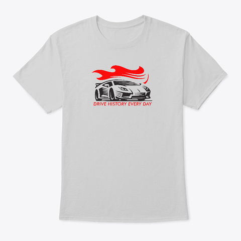 Drive Italian Every Day Light Steel T-Shirt Front