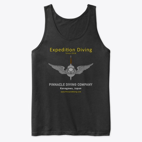 Pdc Expedition Tank Black T-Shirt Front