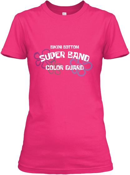 Bikini Bottom Color Guard Heliconia T-Shirt Front