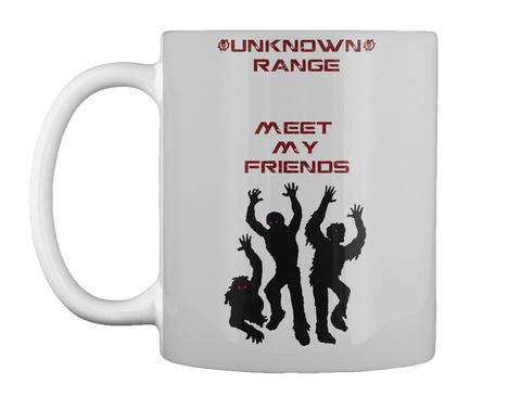 Mug   Unknown Range Zombie World Lt Grey Mug Front