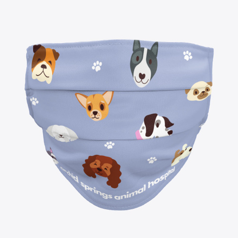Dog Face Covering Standard T-Shirt Front
