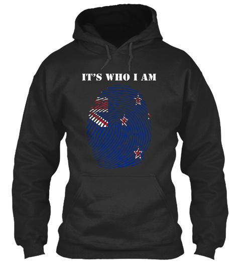 It's Who I Am Jet Black T-Shirt Front