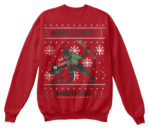 7e2f87641f Merry Krampus Christmas Sweater Products from Hoodies   Sweatshirts ...