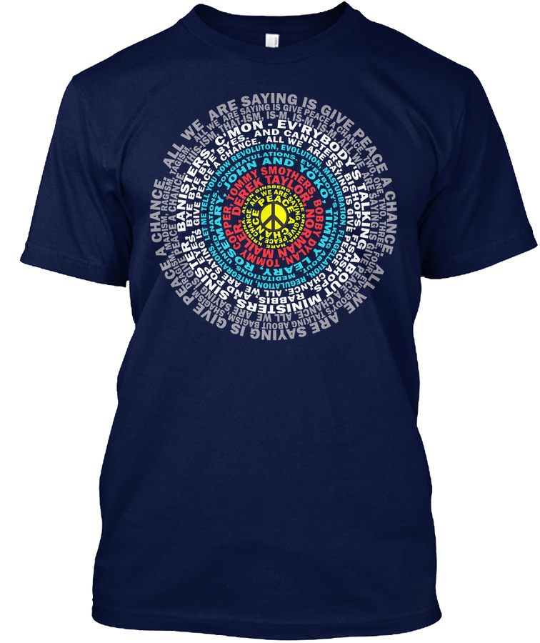 Give Peace A Chance Unisex Tshirt