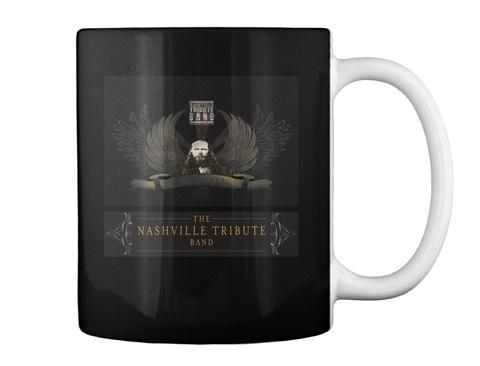 The Nashville Tribute Band Black Mug Back