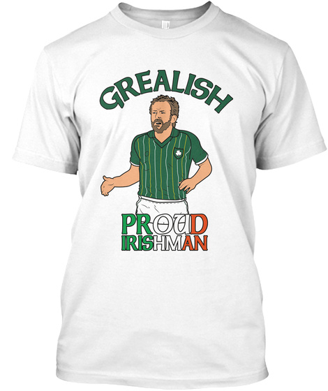 Proud To Wear The Green White T-Shirt Front