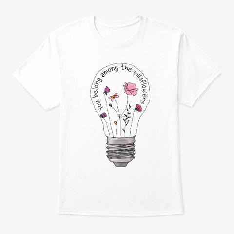 Flower Children Wildflowers Costume White T-Shirt Front