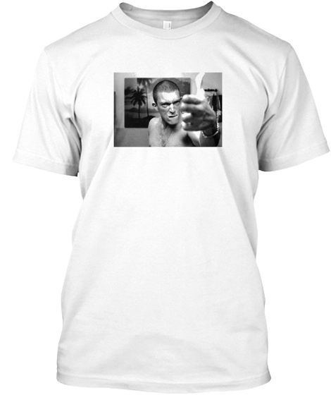 La Haine White T-Shirt Front