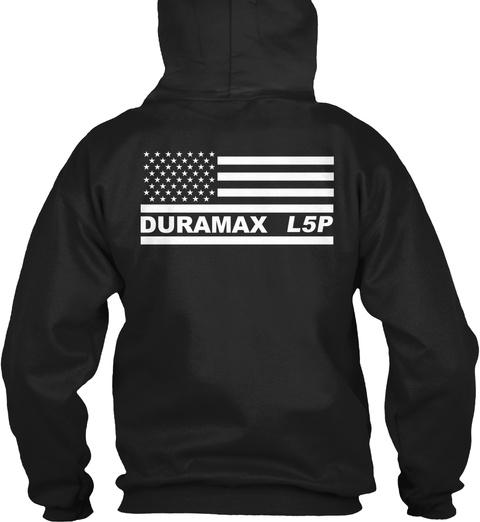 Duramax L5p Black T-Shirt Back