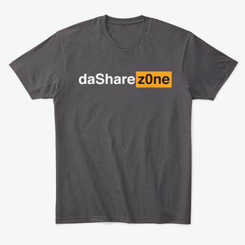 Video Shirt By Da Share Z0 Ne Heathered Charcoal  T-Shirt Front