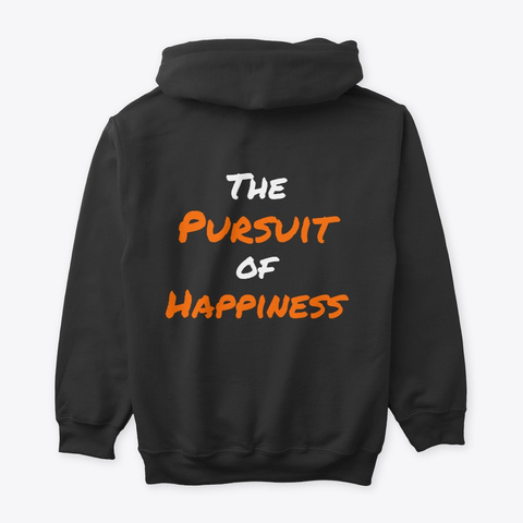 Justsume Founder's Edition Hoodie Black T-Shirt Back