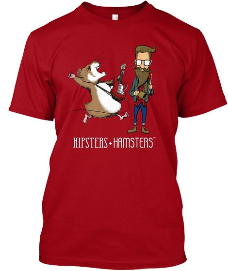 Rockstars Deep Red T-Shirt Front